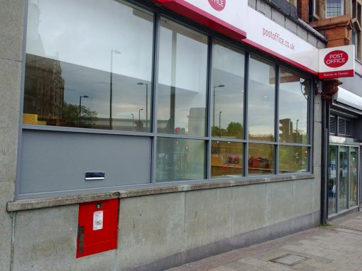 Crown Post Office Golders Green, London