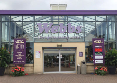 Webbs Main Entrance