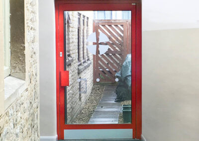 Woodstock Methodist Church Manual Swing Door (1)